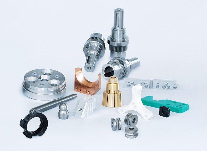 CNC Einzelteile und Komponenten